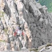 Carico stagionale al rifugio Franchetti 2011